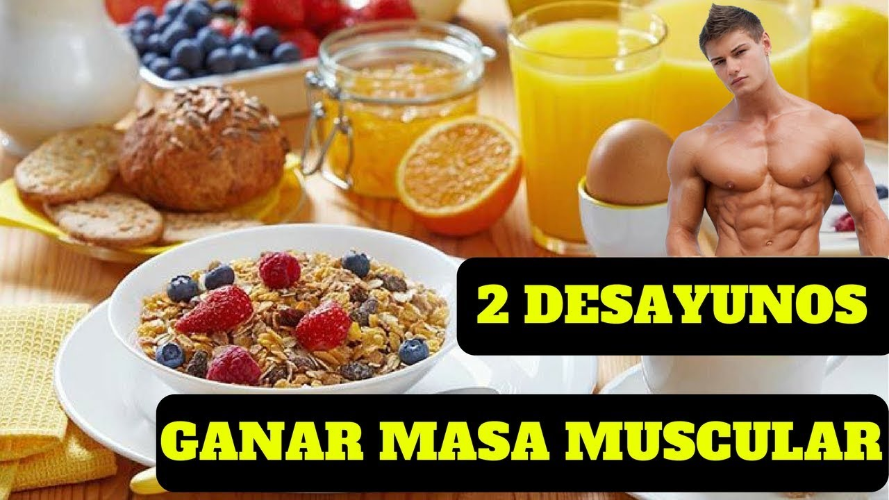 dieta saludable para ganar masa muscular