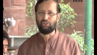 No Politics Over Israel - Gaza  Issue Says Javadekar