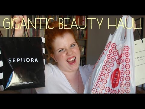 GIGANTIC Vegas Beauty Haul! (Sephora, Cle de Peau, Chanel, drugstore, duty free)