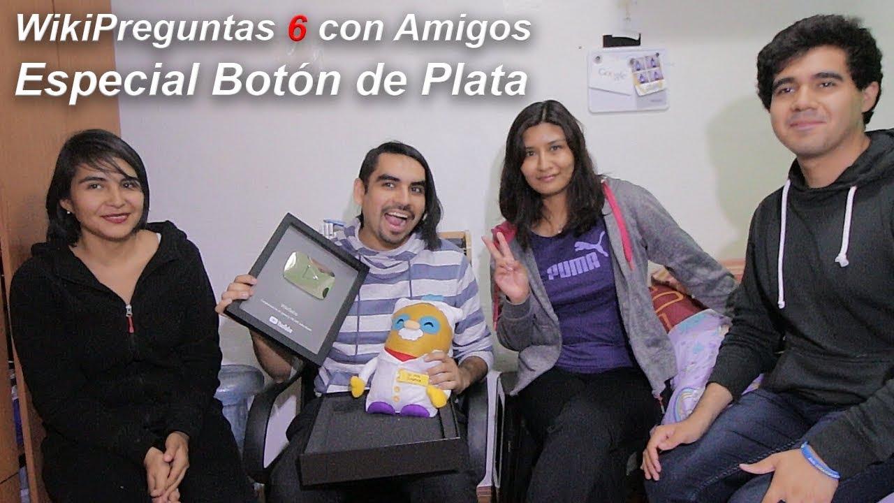 WikiPreguntas 6 | Especial Botón 100k
