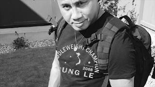 Training at 185% with Cung Le - MMA Lifestyle New Shirt Release