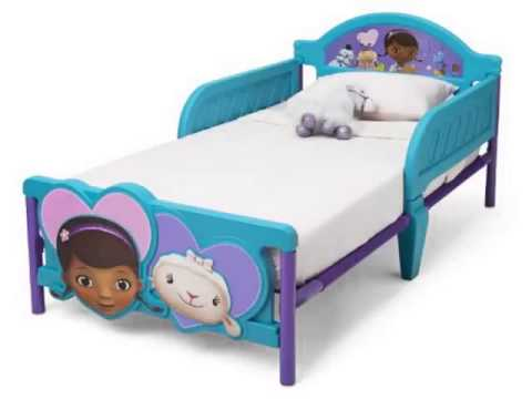 New Delta Childrens Products Doc McStuffins 3D Toddler Bed Top List