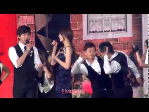 Fancam Alone In Love   Yoona & Lee Seung Gi@ SBS Gayo Daejun