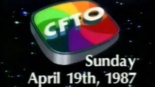 CFTO Toronto 9 World Beat News intro April 19, 1987