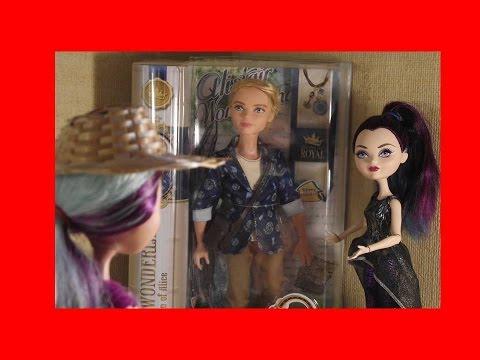 Встречаем Алистера Вондерленда. Видео про кукол эвер афтер хай.