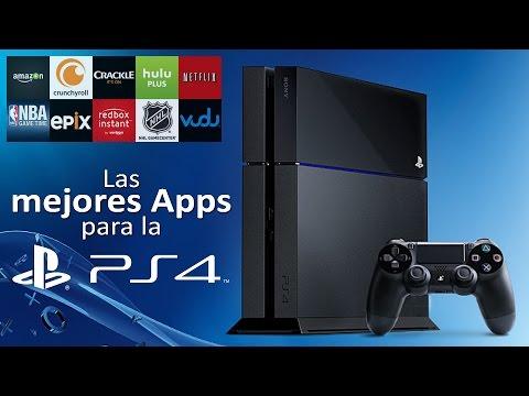 Las mejores aplicaciones para la PlayStation 4