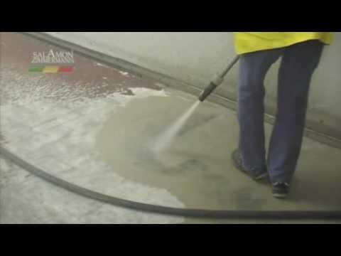 Epoxidharz bodenbeschichtung entfernen youtube for Boden epoxidharz