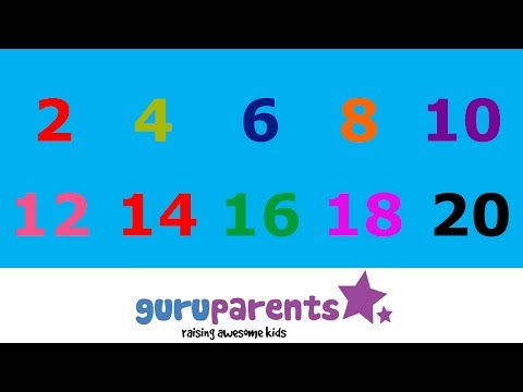 Skip Counting by 2 Song - YouTube