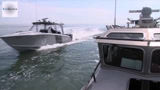 Worlds Fastest Law Enforcement Boat   Midnight Express Cigarette Boat