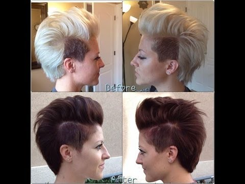 Coloring Blonde hair to dark hair how to Fill it First Hair