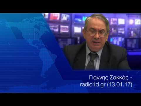 Image result for Γιάννης Σακκάς - radio1d.gr (13.01.17)