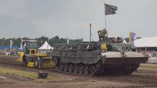 Leopard tank MTU  Flying Baker Detroit Diesel International 2019