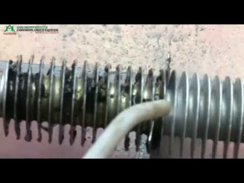 Industrial Steam Cleaning on Heavy Oiled Factory Machinery Parts