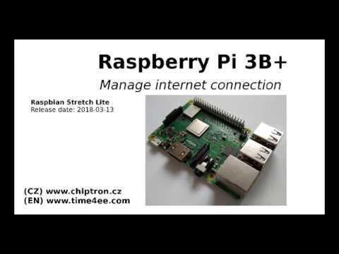 How to set internet on Raspberry Pi 3B+