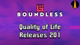 Quality of life | Releases 201 | Boundless