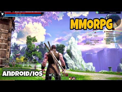 Top 10 Best Free To Play MMORPG For Android/iOS You Should Try 2019 - High Graphics