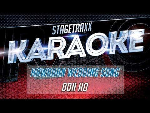 Don Ho Hawaiian Wedding Song Karaoke
