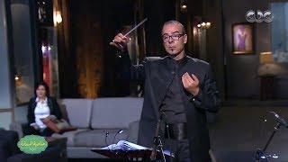 موسيقي رأفت الهجان لعمار الشريعي قيادة اوركسترا نادر عباسي من برنامج صاحبه السعاده