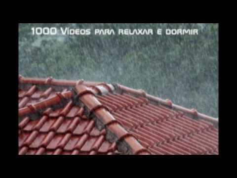 Som da chuva no telhado para você dormir como um bebê ( 20 Minutos de duração )