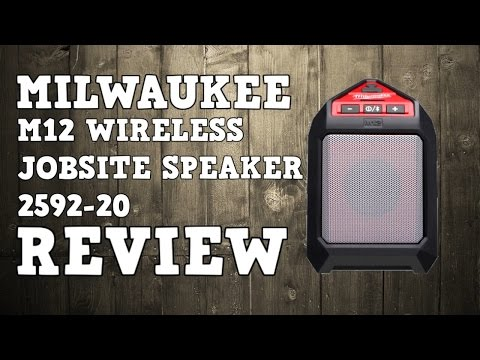 Milwaukee M12 Wireless Bluetooth Jobsite Speaker 2592-20 Review