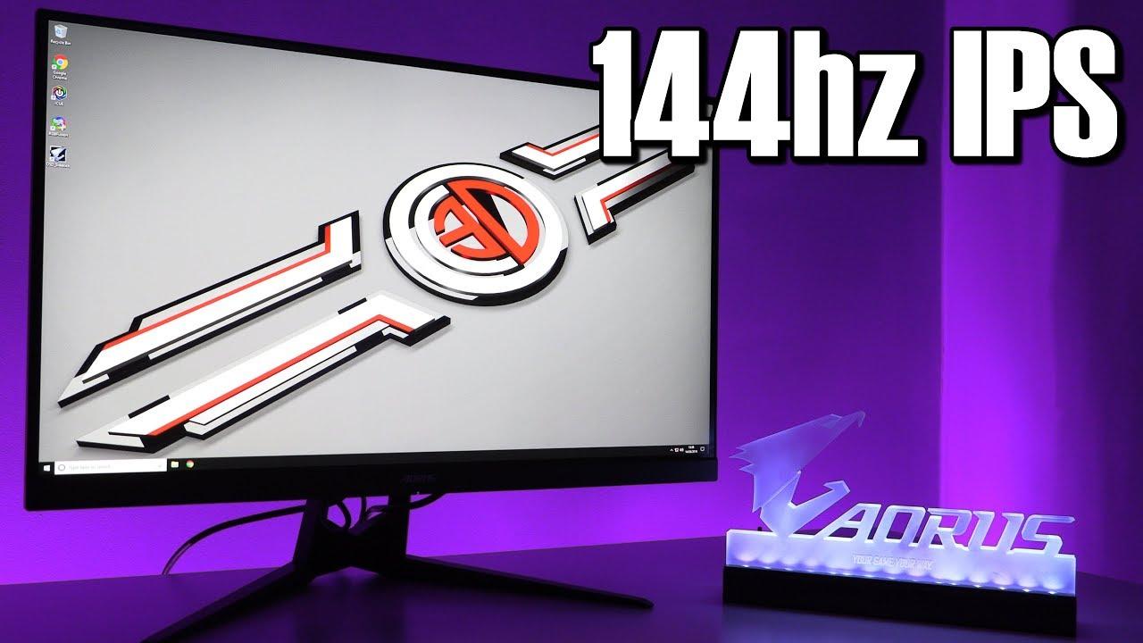Gigabyte Aorus AD27QD Tactical Gaming Monitor 144hz 1440p QHD 1ms IPS HDR