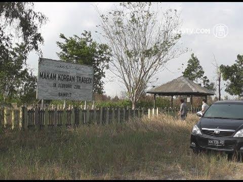 Menilik Makam Korban Mal Tragedi Sampit