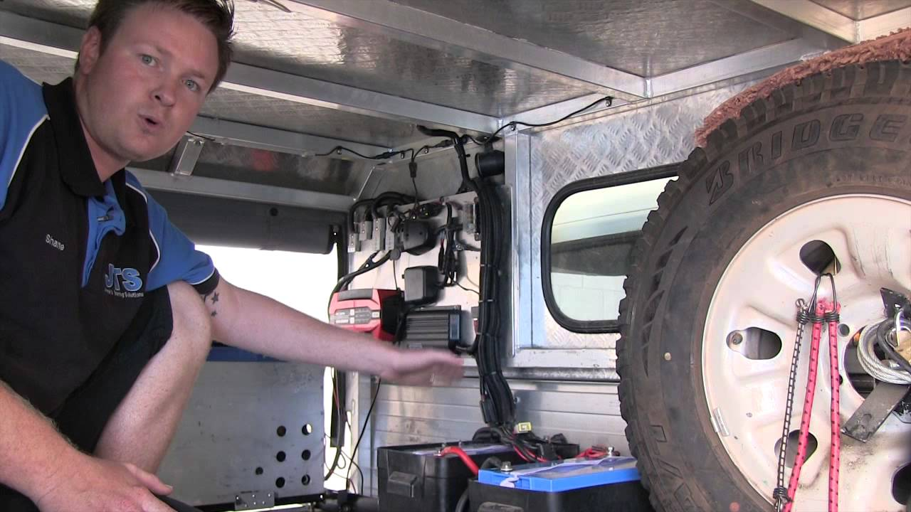 How To Set Up A 12 Volt System In A Canopy And Caravan