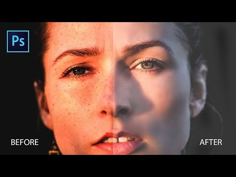 How To Remove Sunspots, Age Spots And Make Skin Smooth In Photoshop