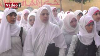 بالفيديو.. طالبة بكرداسة تتحدى أمال ماهر بأغنية «يا مصريين»