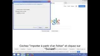 Exporter ou Importer les Favoris sur Internet Explorer (Etape par Etape)