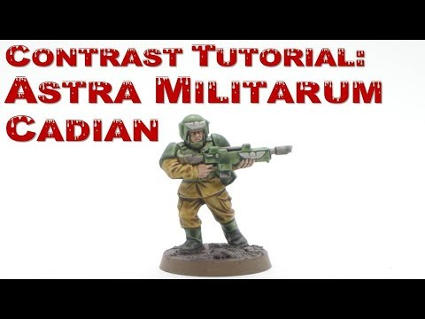 How to Paint Cadians with Contrast Paints