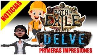 POE | LIGA DELVE | PRIMERAS IMPRESIONES DEL TRAILER