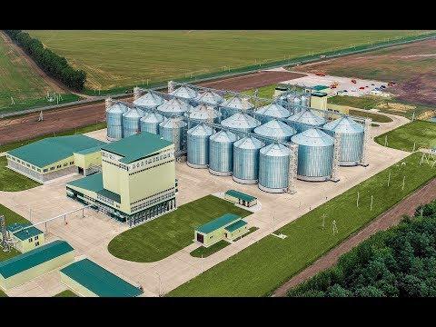 Комбикормовый завод в Курской области