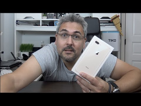 iPhone 8 Plus Déjà Vu Unboxing con pelo incluido