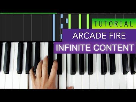 Arcade Fire - Infinite Content ( Piano )