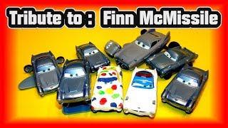 Pixar Cars Character Encyclopedia Finn McMissile Tribute with Pixar Cars Customs