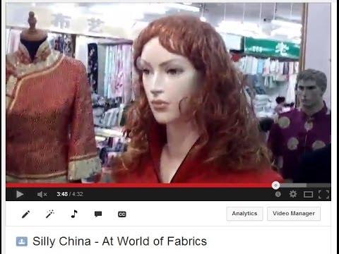 Silly China - At World of Silk and Fabrics