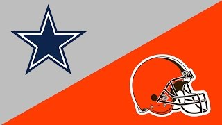 2016 NFL Week 9 Preview: Dallas Cowboys/Cleveland Browns
