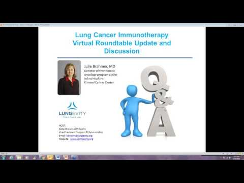 Immunotherapy Virtual Roundtable Update and Discussion