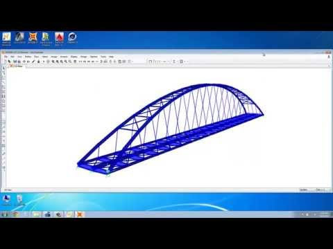 Pedestrian Steel Bridge Mathcad SAP2000 Rhino3D according to EC3