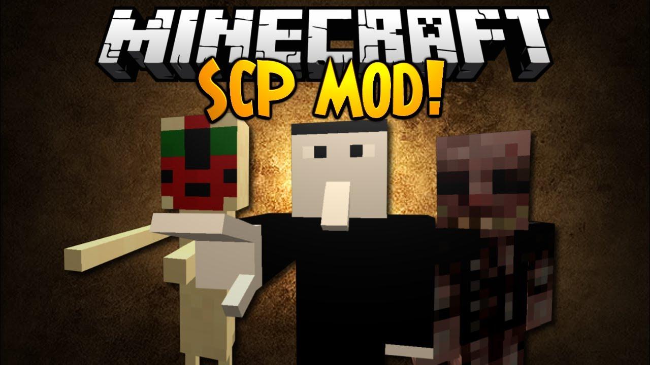 Minecraft Mod Showcase: SCP MOD! - YouTube