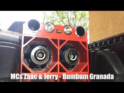 SAVEIRO JBL Tornado Tocando MCs Zaac e Jerry BumBum Granada
