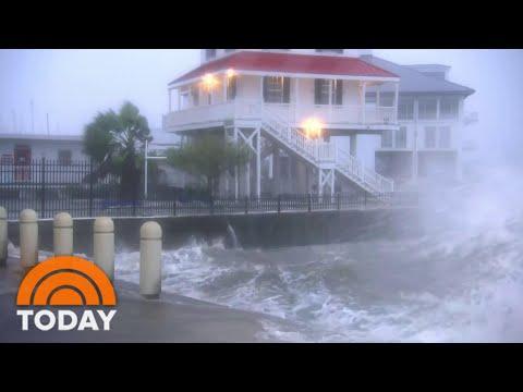 Hurricane Zeta Slams