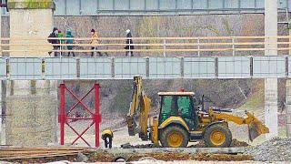 Каховка-Таврийск-Новая Каховка, Северо-Крымский канал, ремонт моста