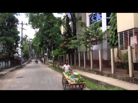 Amberkhana to Housing estate Sylhet Bangladesh