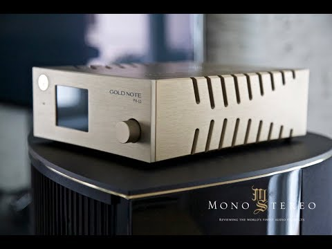 Фонокорректор Gold Note PH-10. Ролик о самом популярном продукте компании.