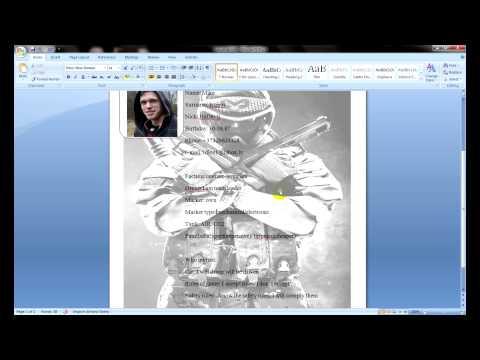 Wargame Как заполнить регистационый лист