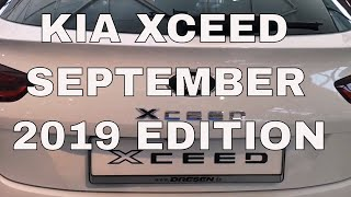 Kia xceed september edition 2019   test drive review