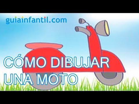 Dibujos de transportes para nios Cmo dibujar una moto  YouTube