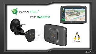 Navitel E505 Magnetic - Magnetyczna nawigacja na Linuxie
